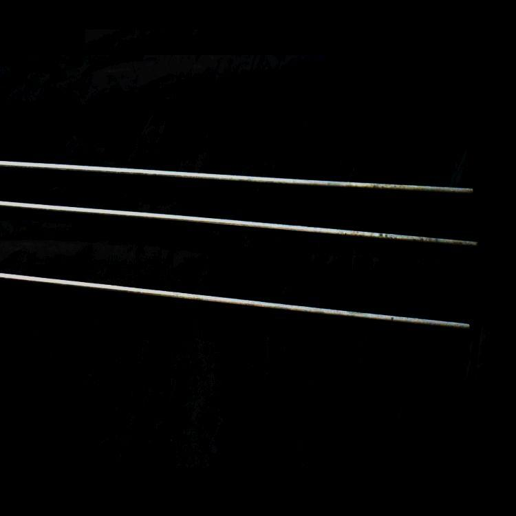 (5 Pack) Vinyl Coated Steel Stakes 12 gauge Wire - 10'' w/daisy clips