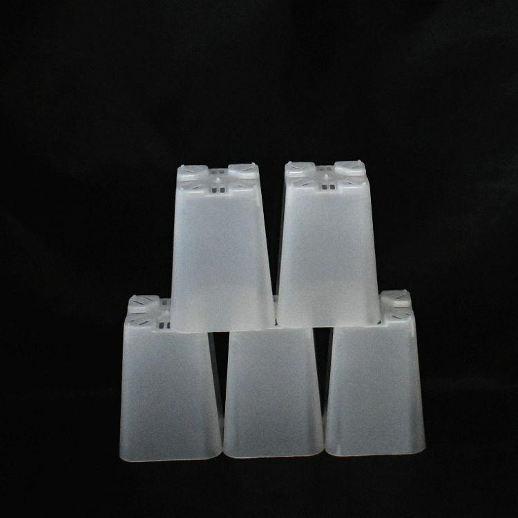 (15 pack) 2 1/4'' Clear Square Plastic Orchid Pot by Sophie's Orchids