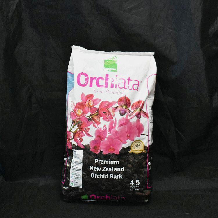 Besgrow Orchiata -100% Pinus Radiata Bark 5 Litres - Power Plus 1/2'' - 3/4'' (Manufactures Package)