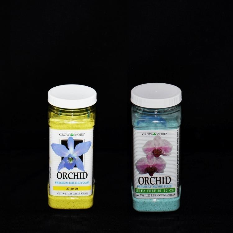 2 Pack of Grow More  Premium Orchid Food 20-10-20