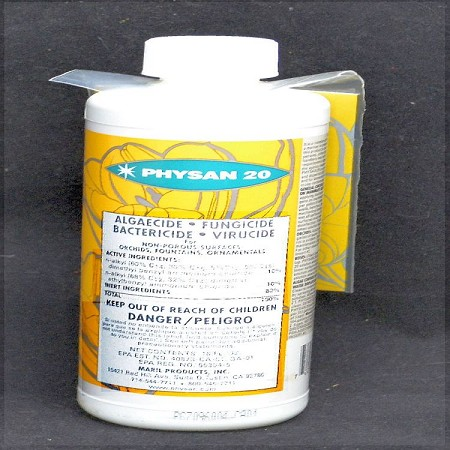 Physan 20 Broad Range Disinfectant, 16 Oz. Bottle Sophie's Orchids